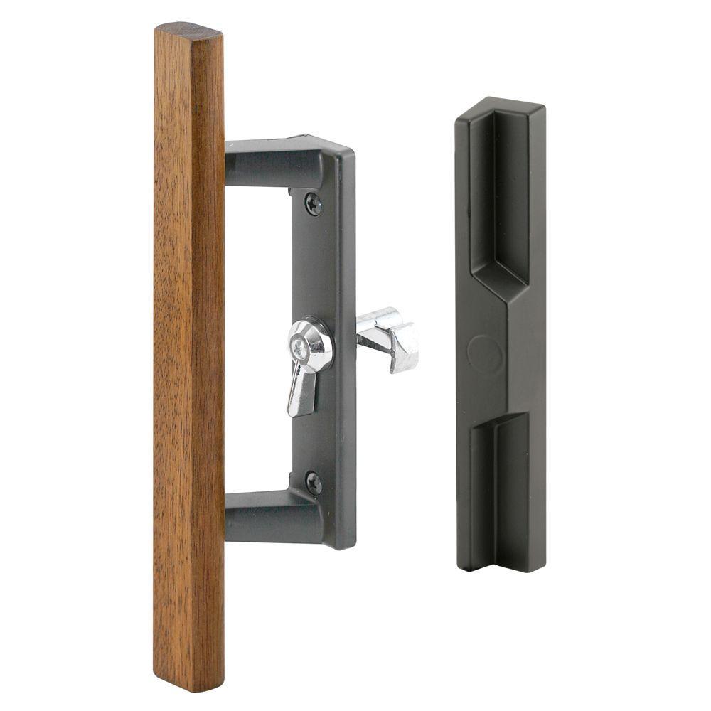 Door Sliding Black Pella Handles