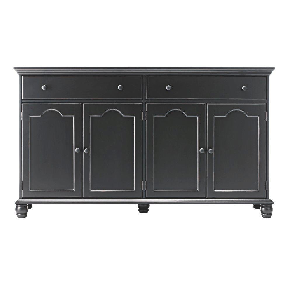 Home Decorators Collection Harwick Black Buffet