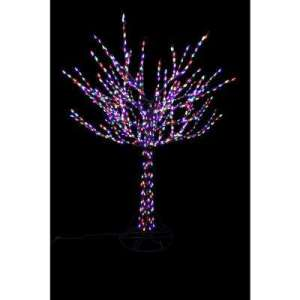 Christmas Yard Decorations   Outdoor Christmas Decorations   The     96 in  LED Pre Lit Bare Branch Tree with Multicolor Lights