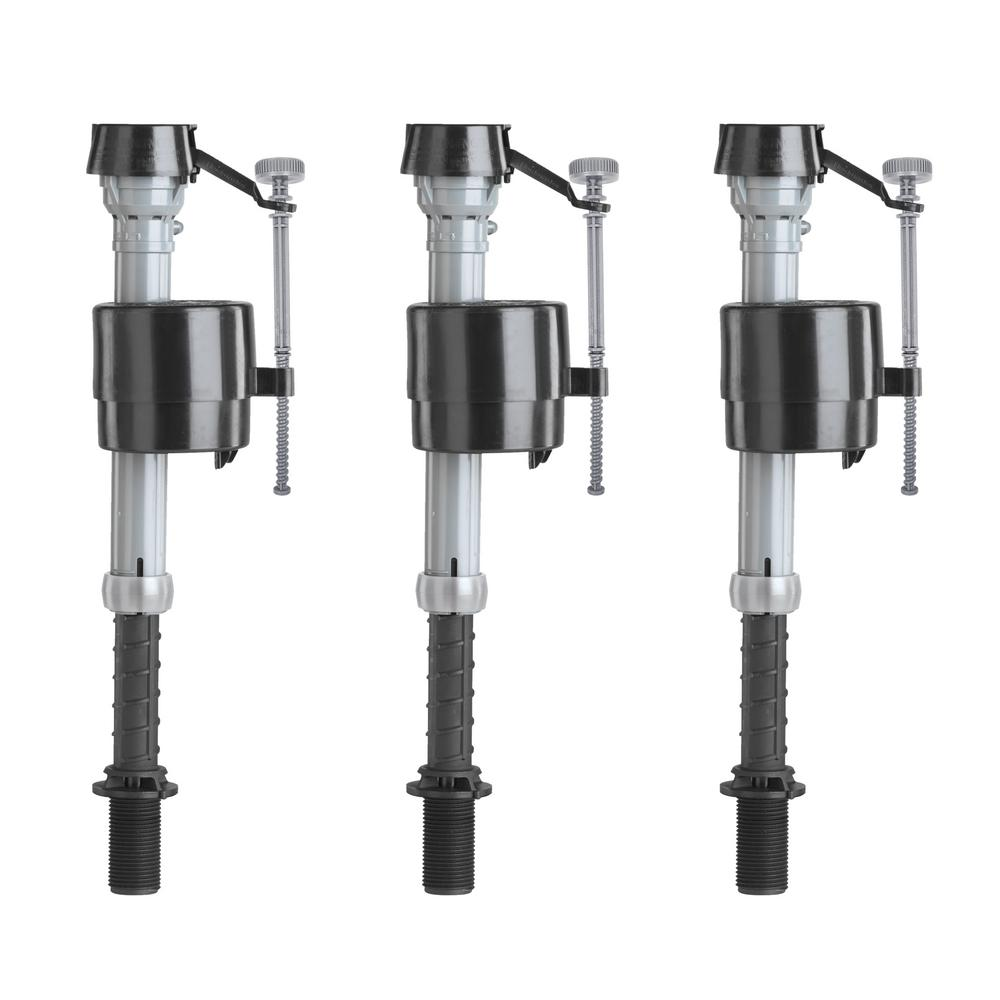Fluidmaster 400a Universal Toilet Fill Valve Contractor 3 Pack 400acn3hp5 The Home Depot