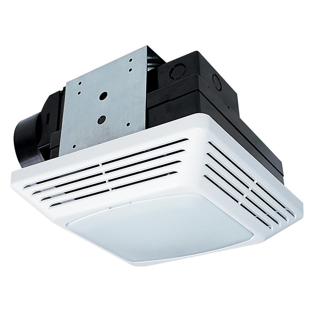 nutone 50 cfm wall/ceiling mount exhaust bath fan-696n - the home