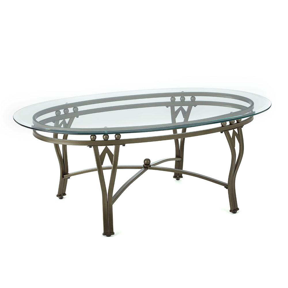 madrid 48 in glass large oval glass coffee table sr250ctbl the home depot