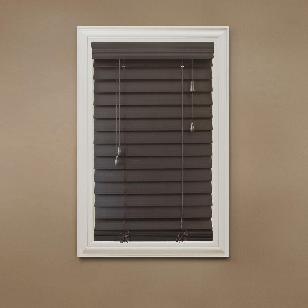 Home Decorators Collection Faux Wood Blinds
