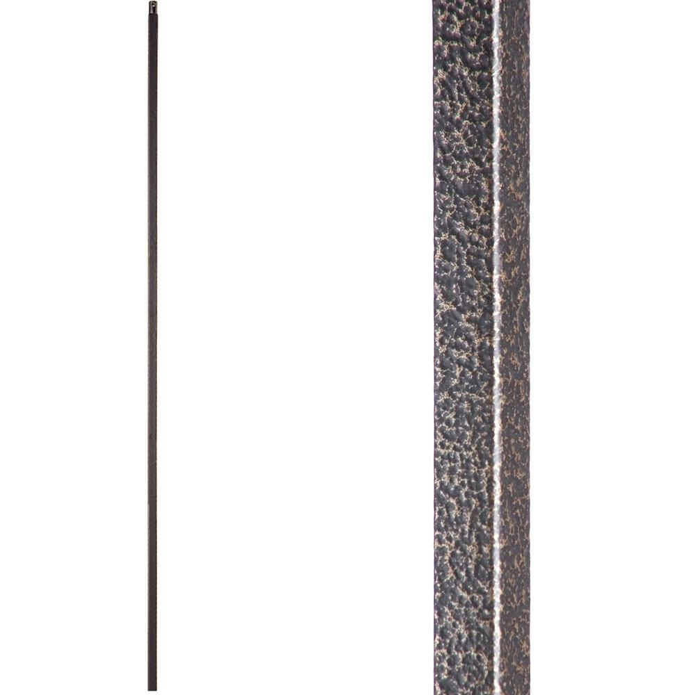 House Of Forgings Versatile 44 In X 5 In Copper Vein Plain   House Of Forgings Balusters   Wentworth   Hand Forged   Custom   Versatile Series   Marquise