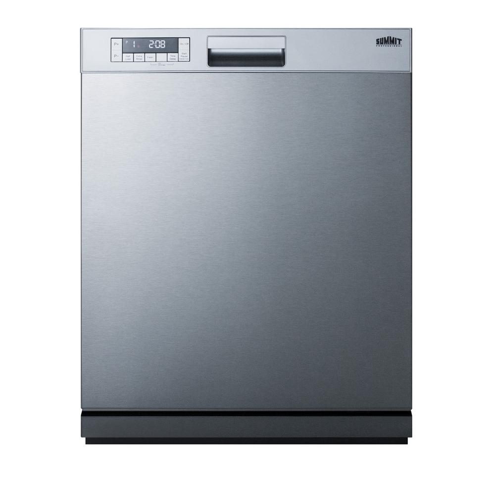 Summit Appliance 24 In Front Control Dishwasher In Stainless