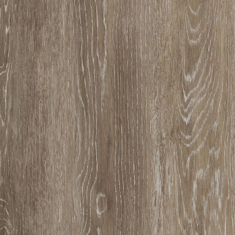 Trafficmaster Khaki Oak 6 In W X 36 In L Luxury Vinyl Plank Flooring 24 Sq Ft Case 185312 The Home Depot