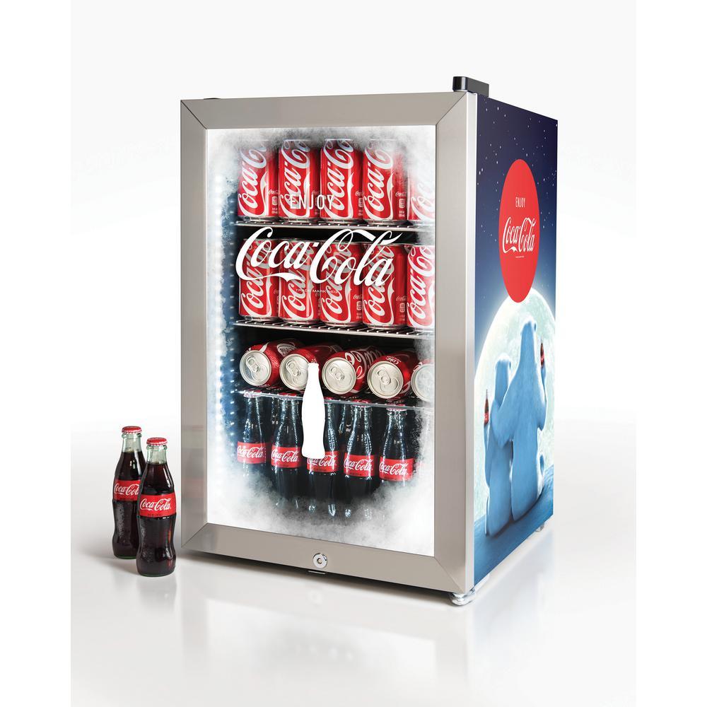 Nostalgia Coca Cola 2 4 Cu Ft 80 Can Limited Edition