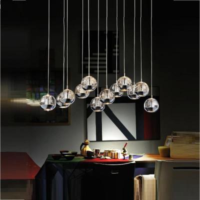 Perrier 12 Light Chrome Chandelier