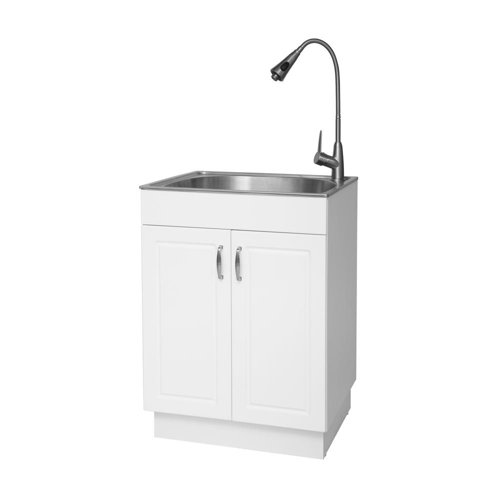 the best utility sinks for your laundry