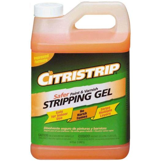 Safer Paint And Varnish Stripping Gel