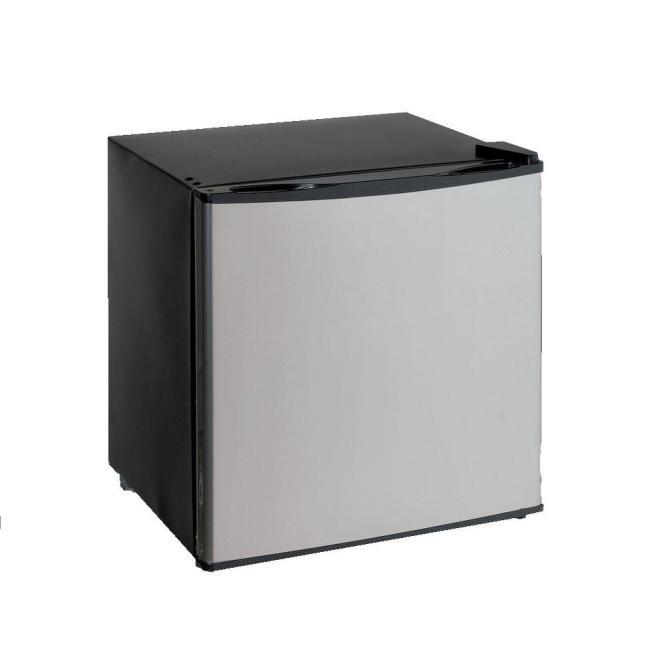Dual Mini Fridge Freezer In Stainless
