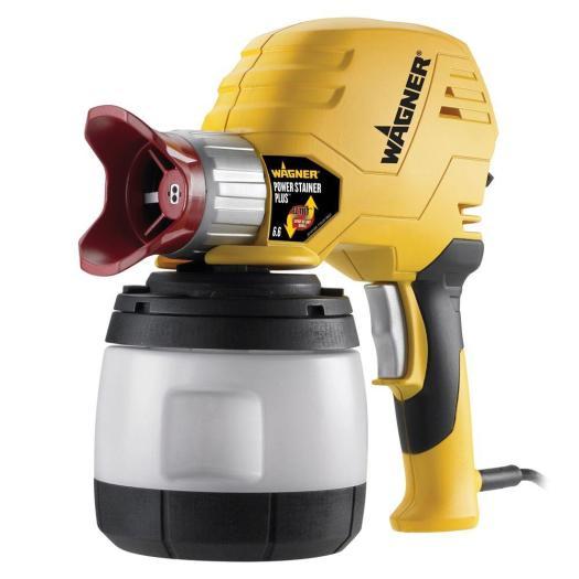 Wagner Power Stainer Plus 6 Gph Paint Sprayer With Ez Tilt Technology