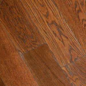 Engineered Hardwood   Hardwood Flooring   The Home Depot Gunstock Oak 3 8 in  Thick x 5 in  Wide x Varying Length
