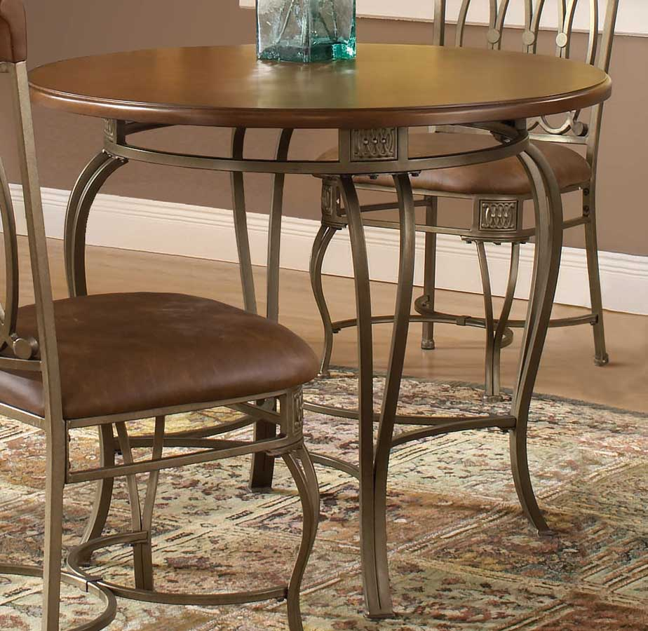 hillsdale montello round dining table 36 inch