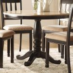 Homelegance Dearborn Round Dining Table Faux Marble Top Black Cream 5458 42 At Homelement Com