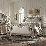 Homelegance Orleans Ii Bedroom Set White Wash B2168ww Bed Set At Homelement Com