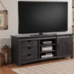 Parker House Durango 76 Inch Console With Sliding Door Rustic Dark Pine Ph Dur 76 At Homelement Com