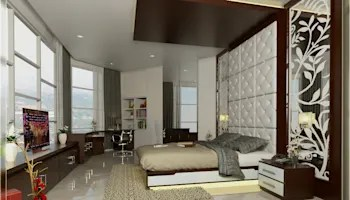 BEDROOM 01:  oleh Arsitekpedia,