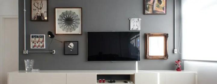 Projekty, Pokój multimedialny zaprojektowane przez PM Arquitetura