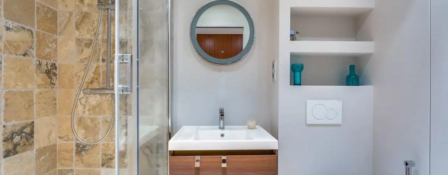 6 ديكورات حمام صغير رائع
