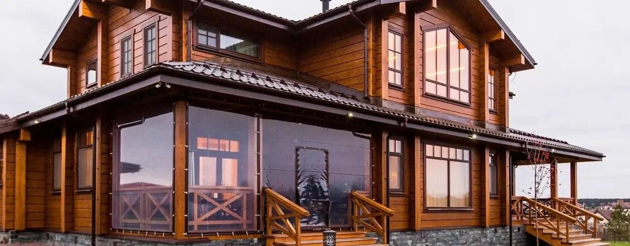 7 Rumah Indah Berbahan Semen Dan Kayu