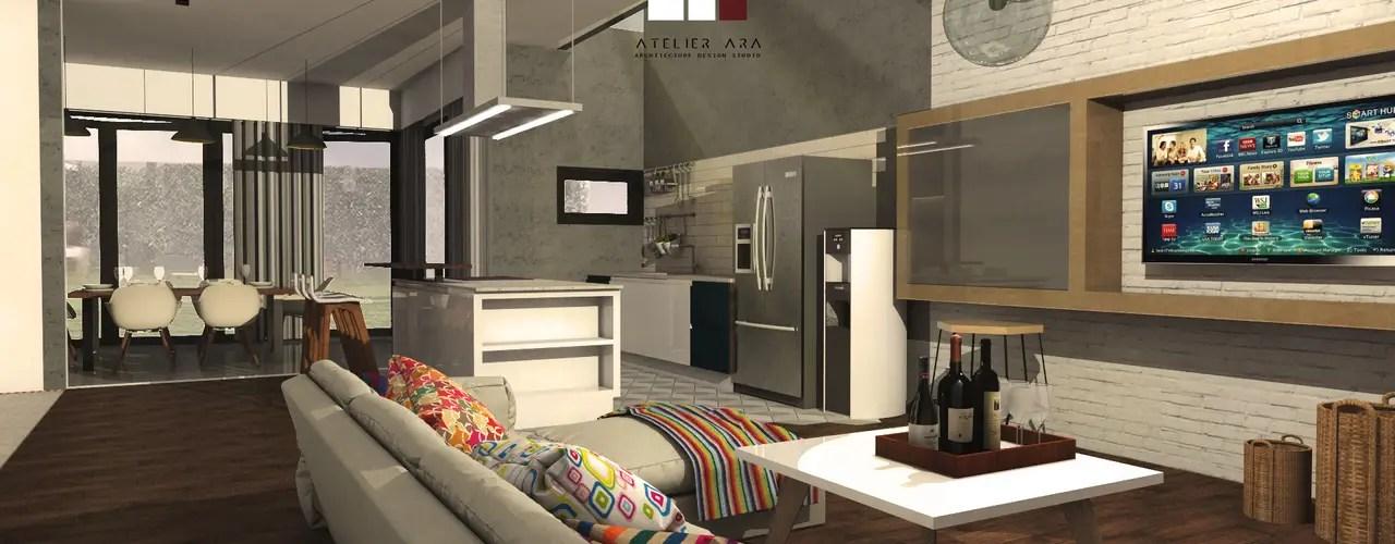 Desain Interior Rumah Minimalis Modern Di Jakarta Ini Sempurna