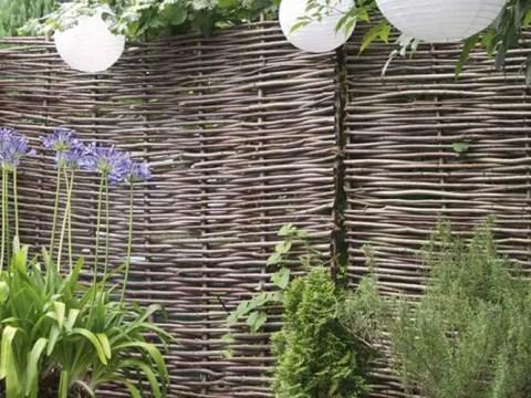 raffinierte gartengestaltung raffinierte zäune für kleine gärten