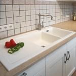Keramik Spule Mit Doppelbecken Von Kuchen Quelle Landhaus Homify