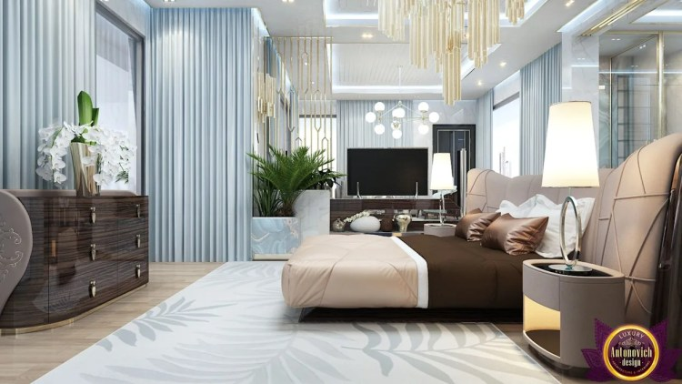 Interiors Ideas For Large Bedroom Of Katrina Antonovich Modern Style Bedroom By Luxury Antonovich Design Modern Homify