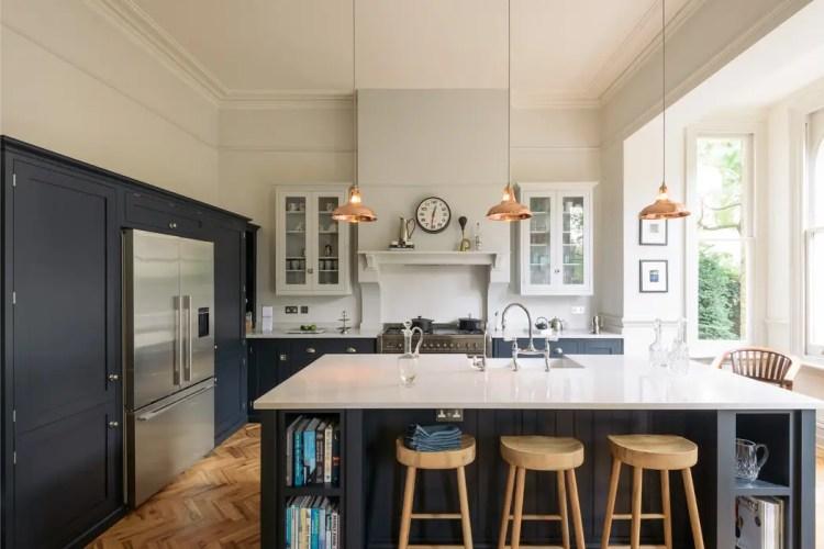The Crystal Palace Kitchen By Devol Devol Kitchens Kitchen Units Blue Homify