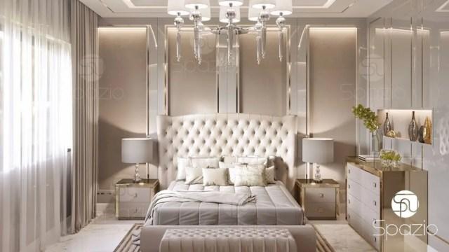 Luxury Modern Master Bedroom Interior Design And Decor In Dubai Spazio Interior Decoration Llc Modern Bedroom Grey Homify