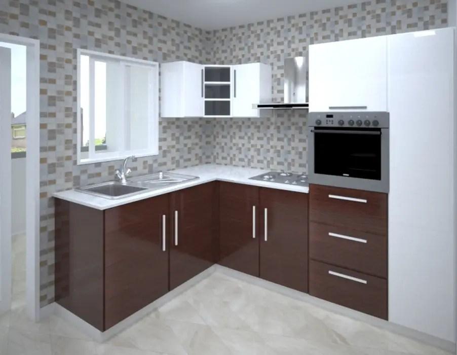 U Shaped Modular Kitchen Design Kitchen Units By Vinra Interiors Homify