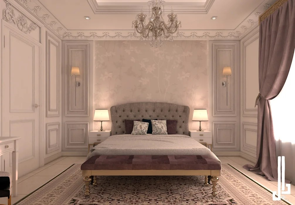 French Classical Villa Classic Style Bedroom By Dal Design