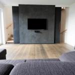 Wohnraum Mit Fernsehwand Moderne Wohnzimmer Von Hysenbergh Gmbh Raumkonzepte Duesseldorf Modern Homify
