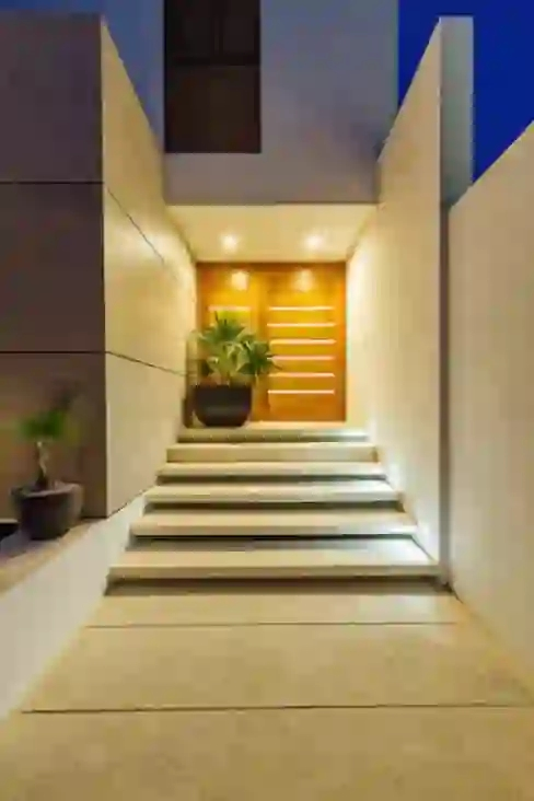 36 Entrance Designs That Are Perfect For Small Homes Homify Homify | House Entrance Steps Designs | Contemporary | Side Entrance | House Main Gate Roof | Duplex House | Ultra Modern Modern Front