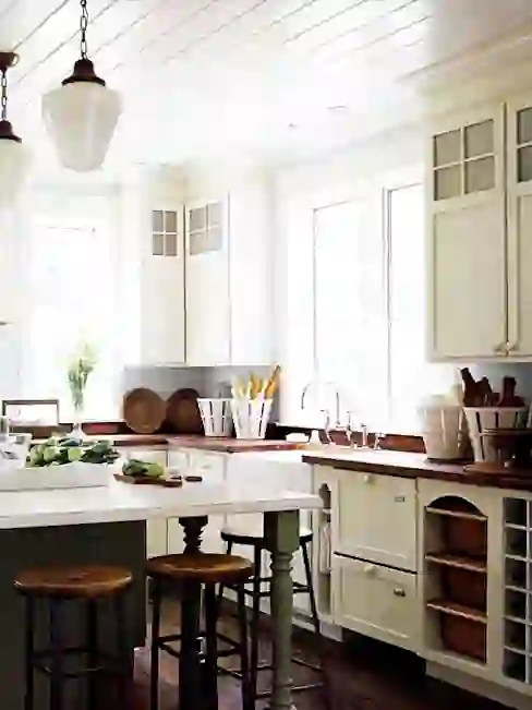 lighting for your country style kitchen