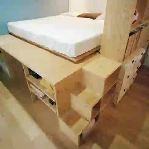 Kamar Tidur oleh AIDAHO Inc.
