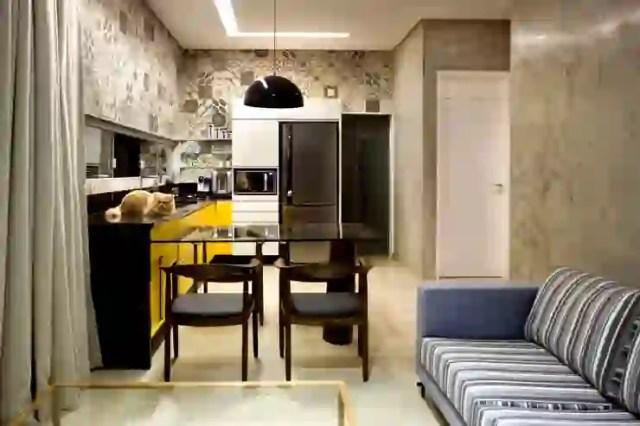 Interior Ruang Makan Dan Dapur