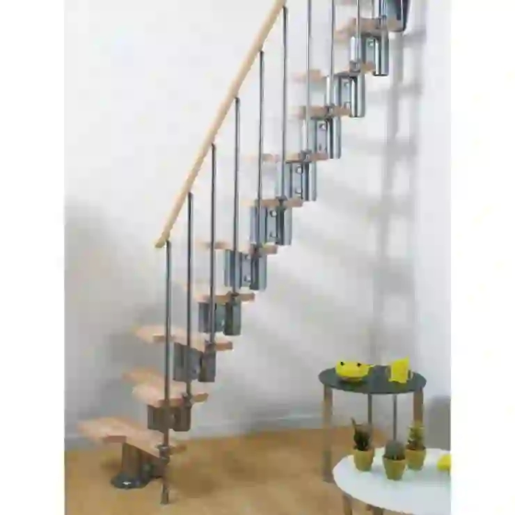 13 Clever Stair Designs For Your Small Home Homify Homify   Space Saving Staircases For Small Homes   Design   Attic Ladder   Wood   Ladder   Loft Stairs