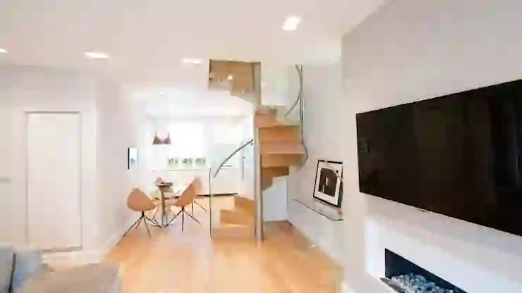 13 Clever Stair Designs For Your Small Home Homify Homify | Clever Stairs For Small Spaces | Staircase | Upstairs Small Space | Front Window | Small Area | Mini