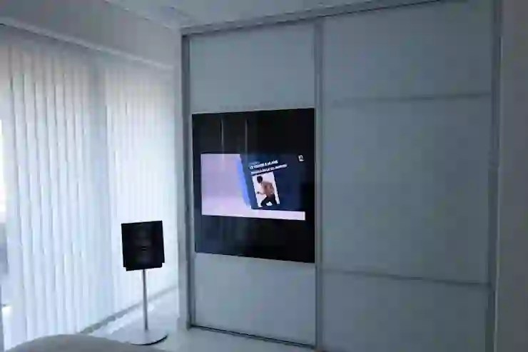 portes coulissantes tv integree homify