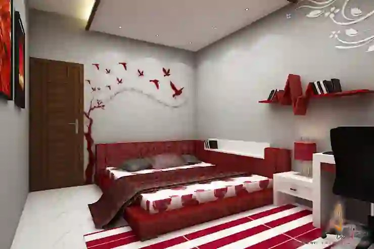 to decorate a long rectangular bedroom