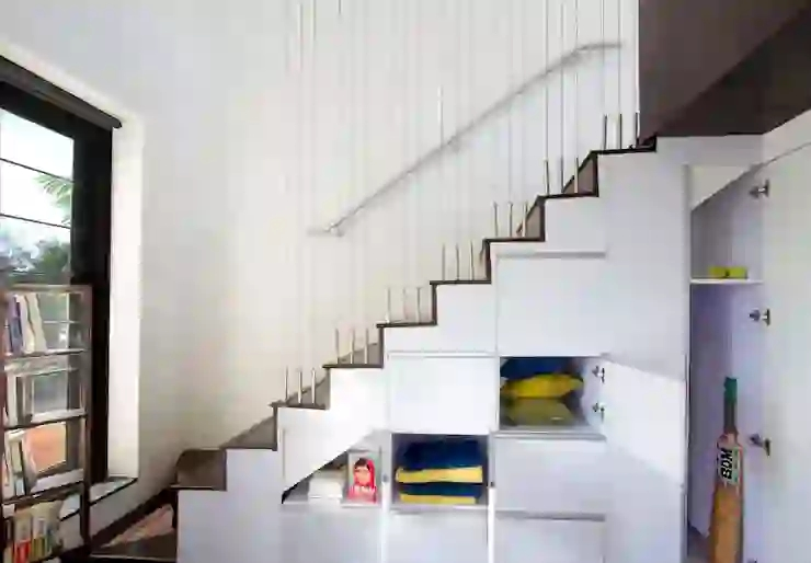12 Staircases For Small Indian Homes Homify Homify   Inner Steps Design For House   Contemporary   Ultra Modern   Metal Staircase   Double Storey   Side Wall