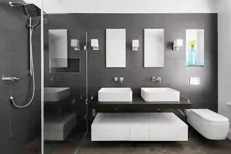 Stylish Inspiration Tips For Making A Dark Bathroom Work Homify