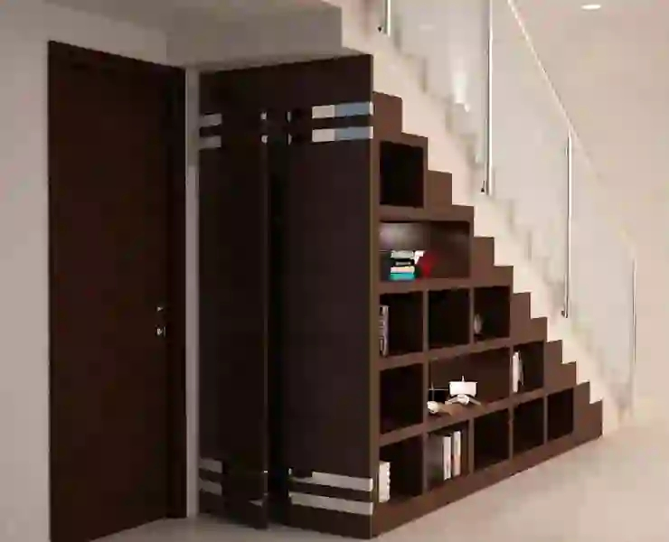 Types Of Staircase Designs For Indian Homes Homify Homify | Wooden Staircase Designs For Homes | Beautiful | Royal Wooden Stair | Residential | Interior | Iron