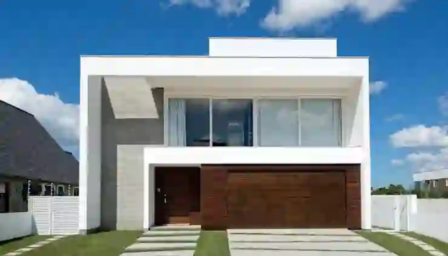 Rumah Minimalis Oleh Espaço do Traço arquitetura Minimalis