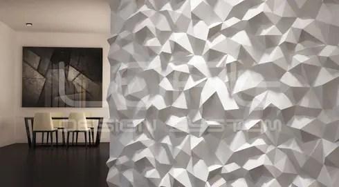 Dekorative 3D Wandpaneele - neue Modelle von Loft Design System Deutschland homify