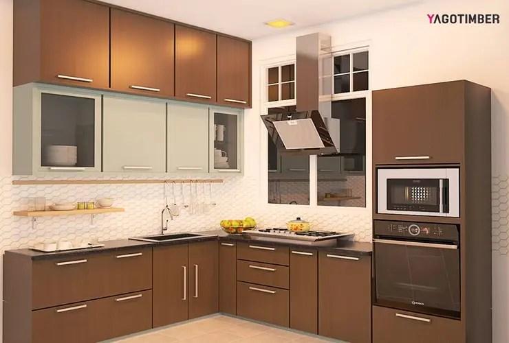 Small Size Modular Kitchen Design