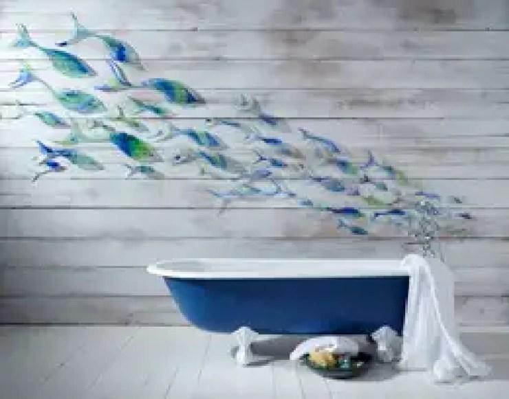 Baños de estilo moderno de Jo Downs