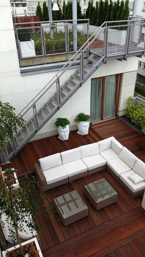 translation missing: us.style.terrace.modern Terrace by Ogrodowa Sceneria